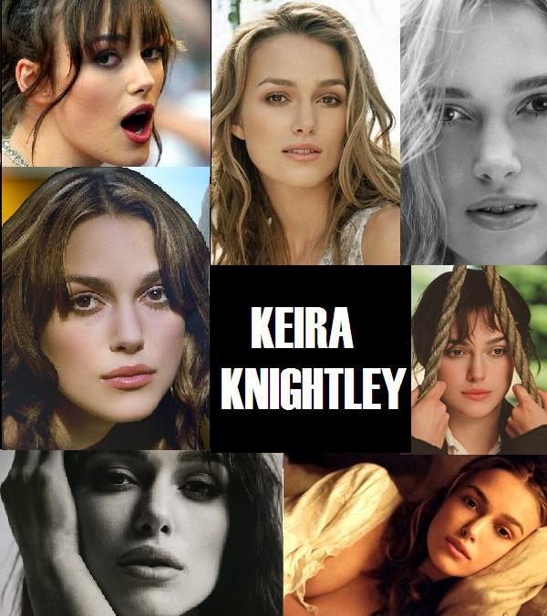 Keira Knightley faces